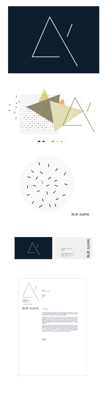 Identité Blue Alpha